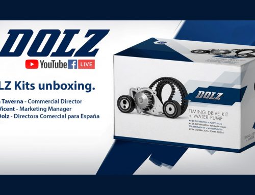 DOLZ LIVE — UNBOXING Timing belt kit with water pump