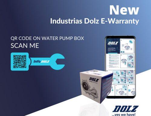 Industrias Dolz, renouvelle ses boîtiers de pompes à eau en ajoutant sa E-Warranty