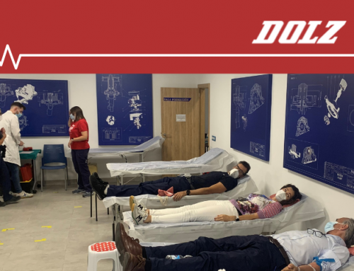 Dolz organizes a Blood Donation Day